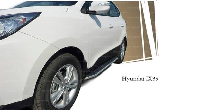 Порог площадка Rival Hyundai IX35