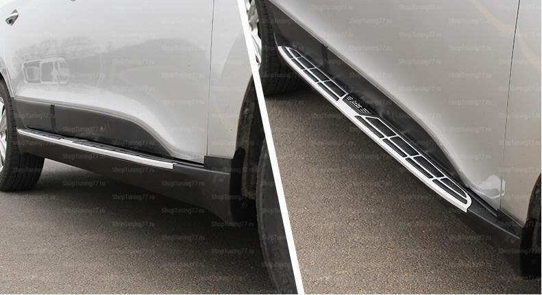 Пороги подножки Mobis стиль Hyundai IX35