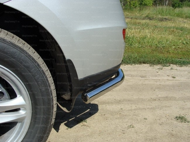 Защита задняя (уголки) 60,3 мм Hyundai Santa Fe (2010-)