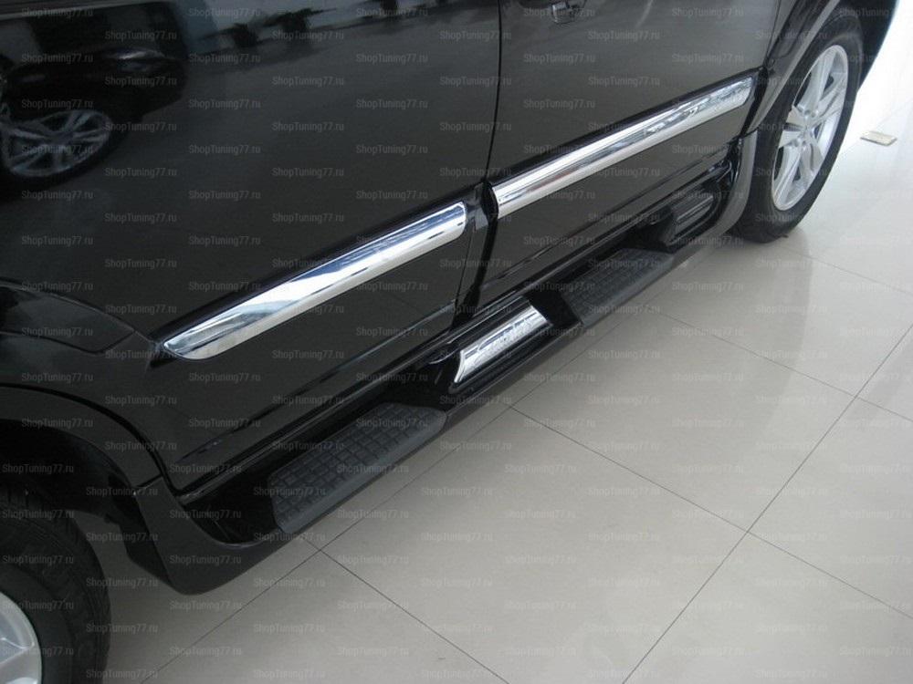 Пороги Hyundai Santa Fe (2010-)