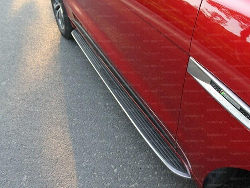 Пороги подножки для Jaguar F-Pace (2016-)
