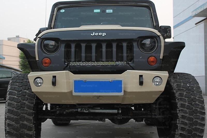 Фонари переднии Jeep Wrangler