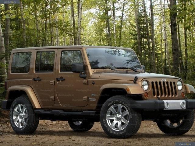 Пороги Jeep Wrangler 5 doors (2007-)