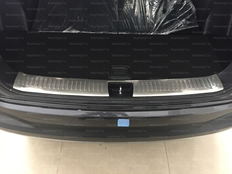 Накладка на  дверь багажника, нержавеющая сталь Kia Sorento Prime (2015-)