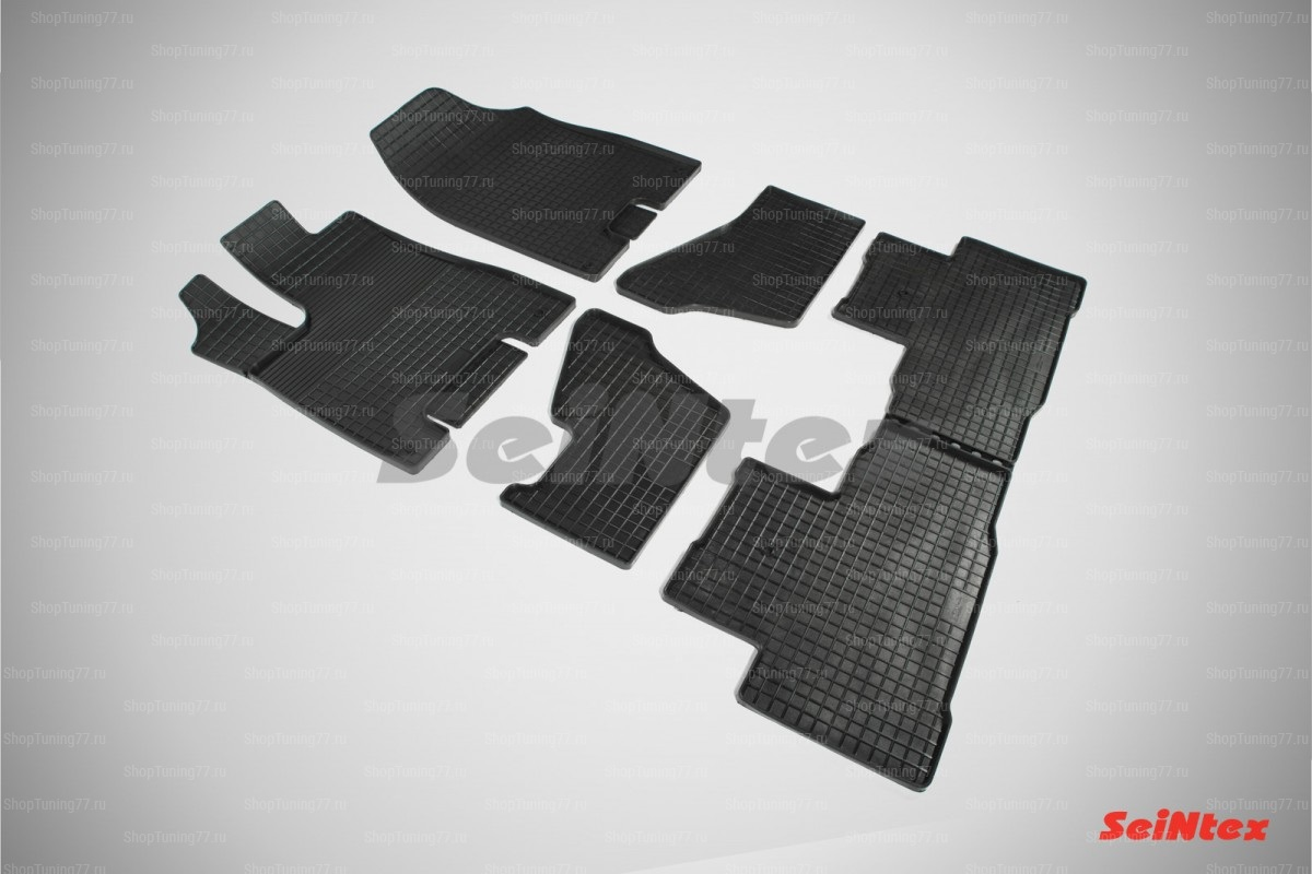 Резиновые коврики сетка для Acura MDX (2013-)