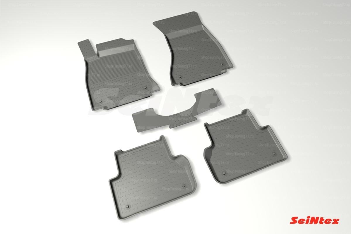 Коврики с высоким бортом для Audi A4 (B9) (2015-)