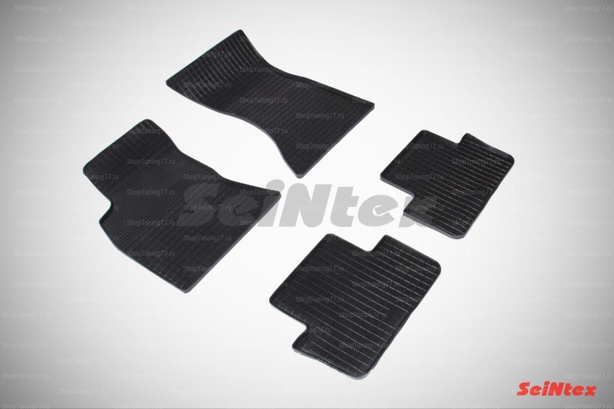 Резиновые коврики сетка для Audi A4 (B8) (2007-2015)