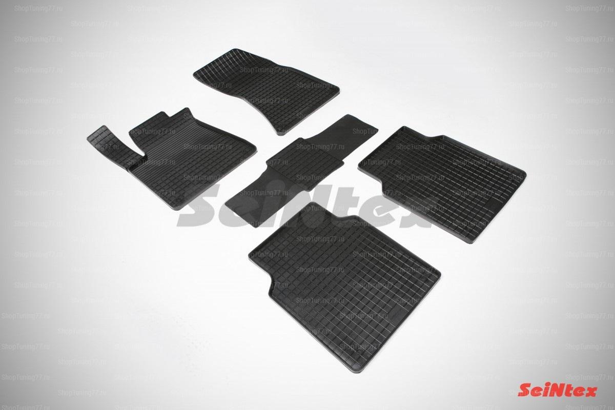 Резиновые коврики сетка для Audi A8 III (D4) (2010-)