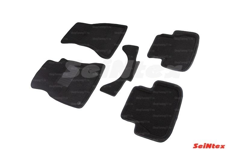 Ворсовые 3D коврики для Audi A4 (B8) (2007-2015)