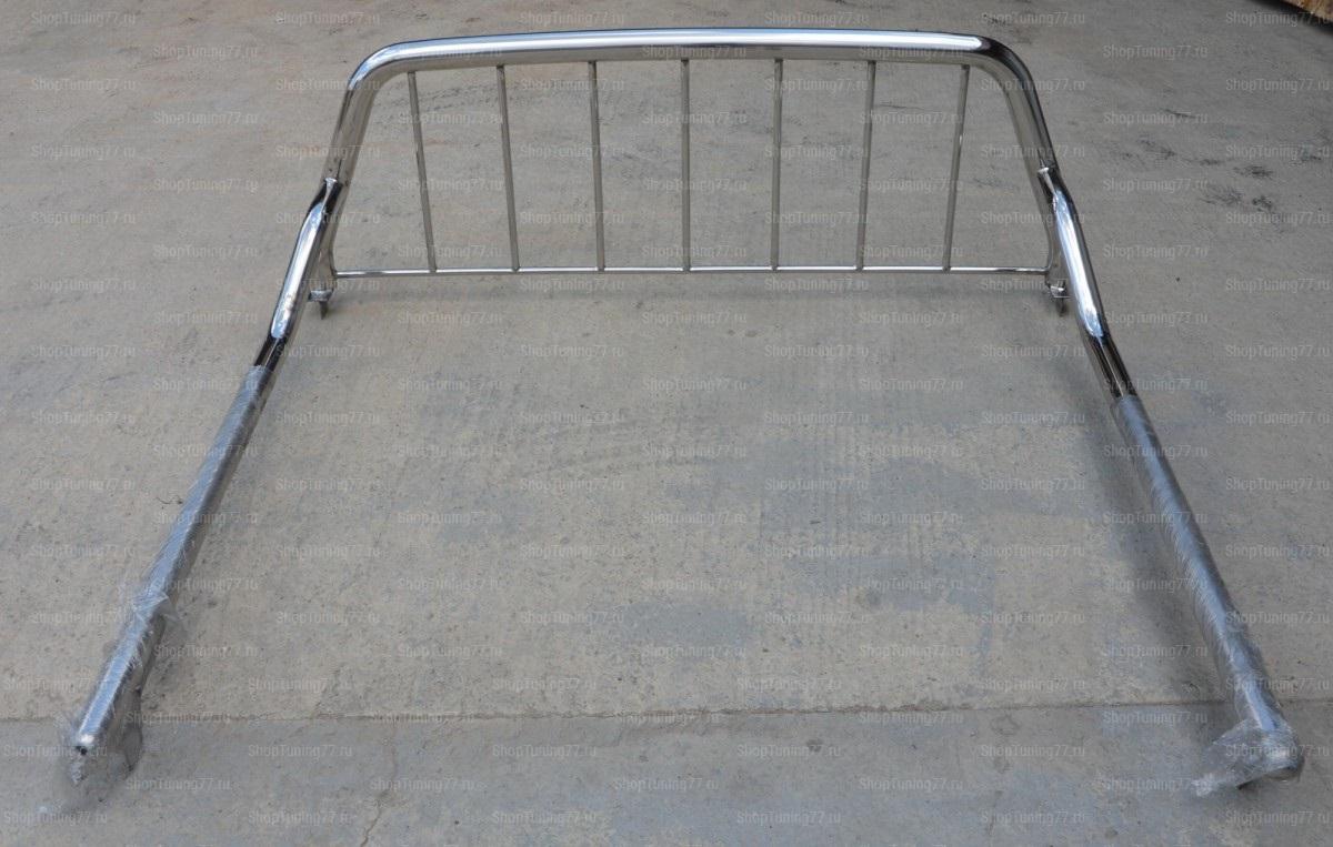 Защитные дуги кузова 60/53/16 мм Toyota Hilux 2018