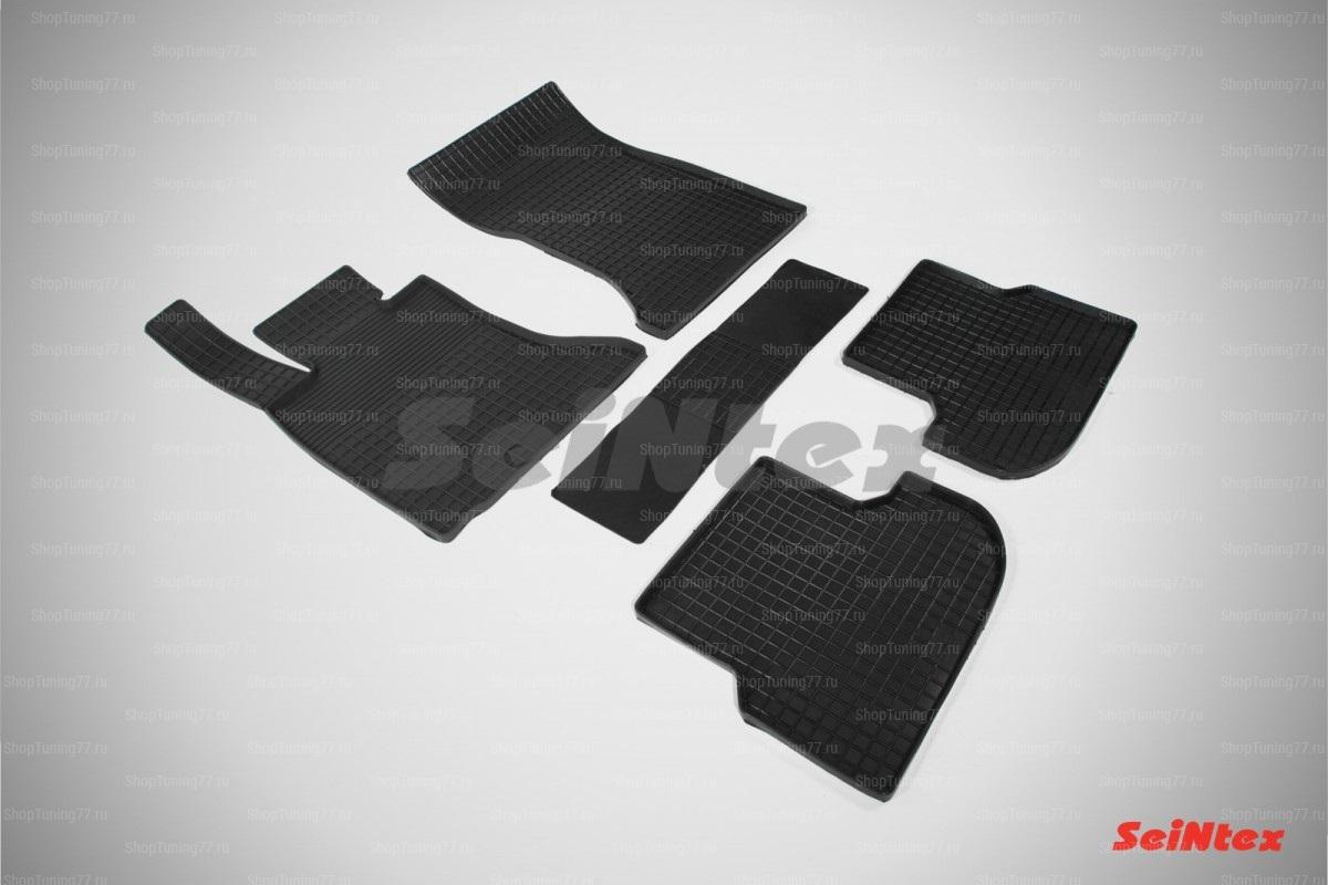 Резиновые коврики сетка для Bmw 5 Series F10 (рест) 2WD (2013-)