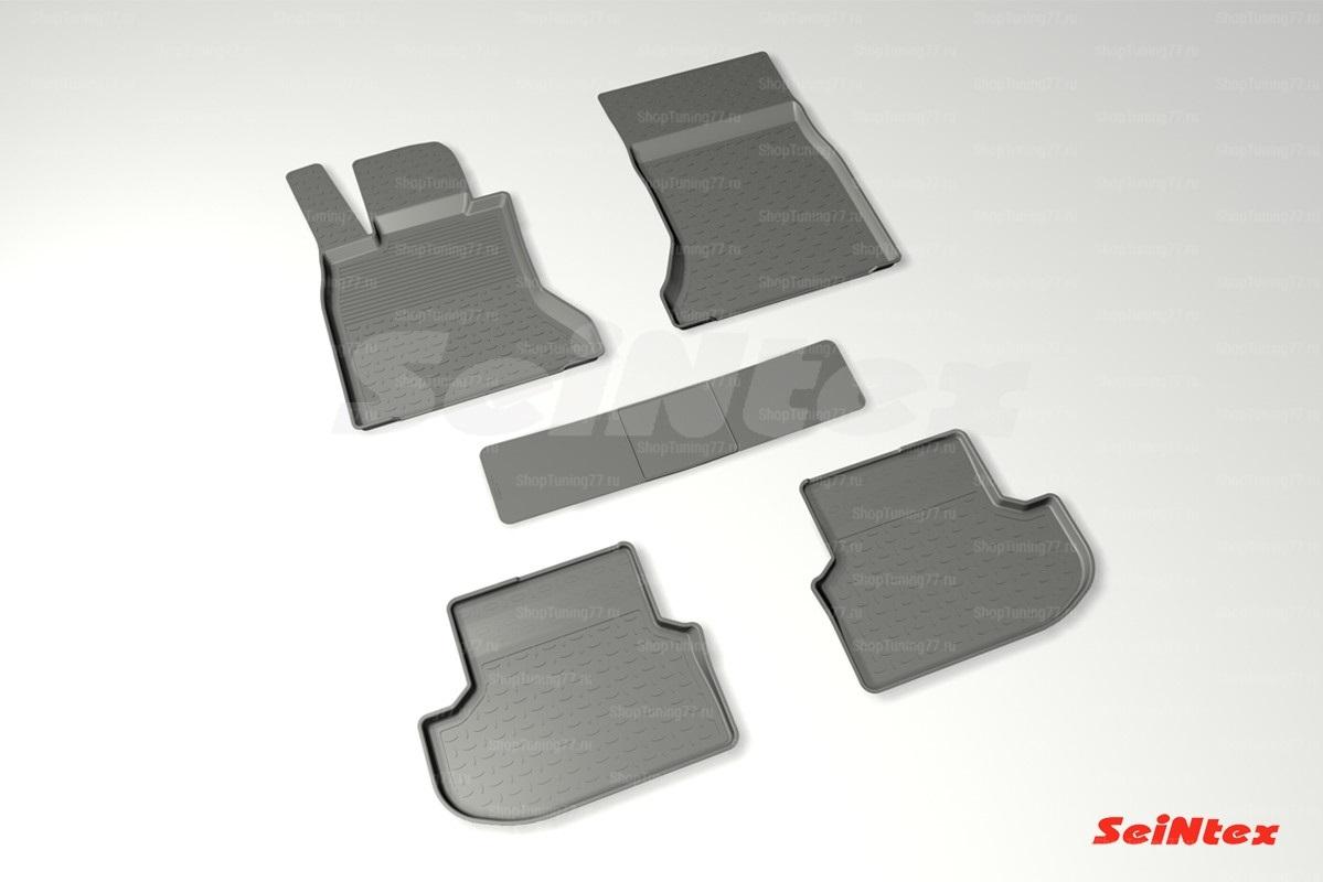 Коврики с высоким бортом для Bmw 5 Series F10 (рест) 4WD (2013-)