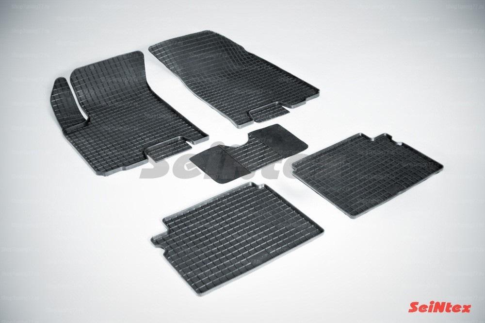 Резиновые коврики сетка для Chevrolet Aveo (2003-2011)