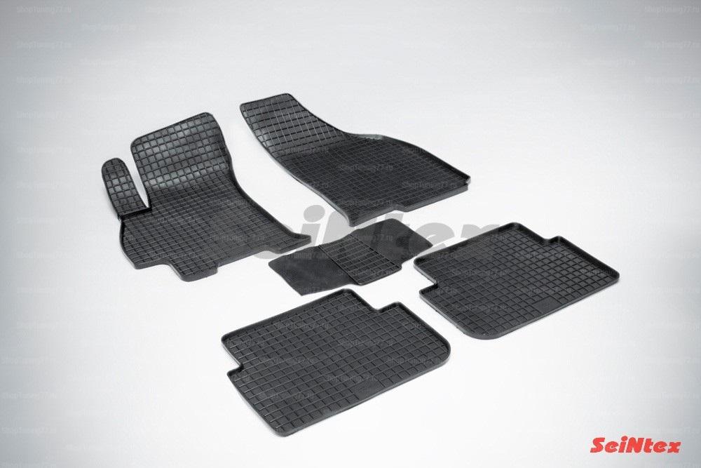 Резиновые коврики сетка для Chevrolet Lanos (2005-2009)