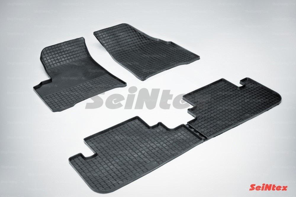 Резиновые коврики сетка для Chevrolet Rezzo (2004-2010)
