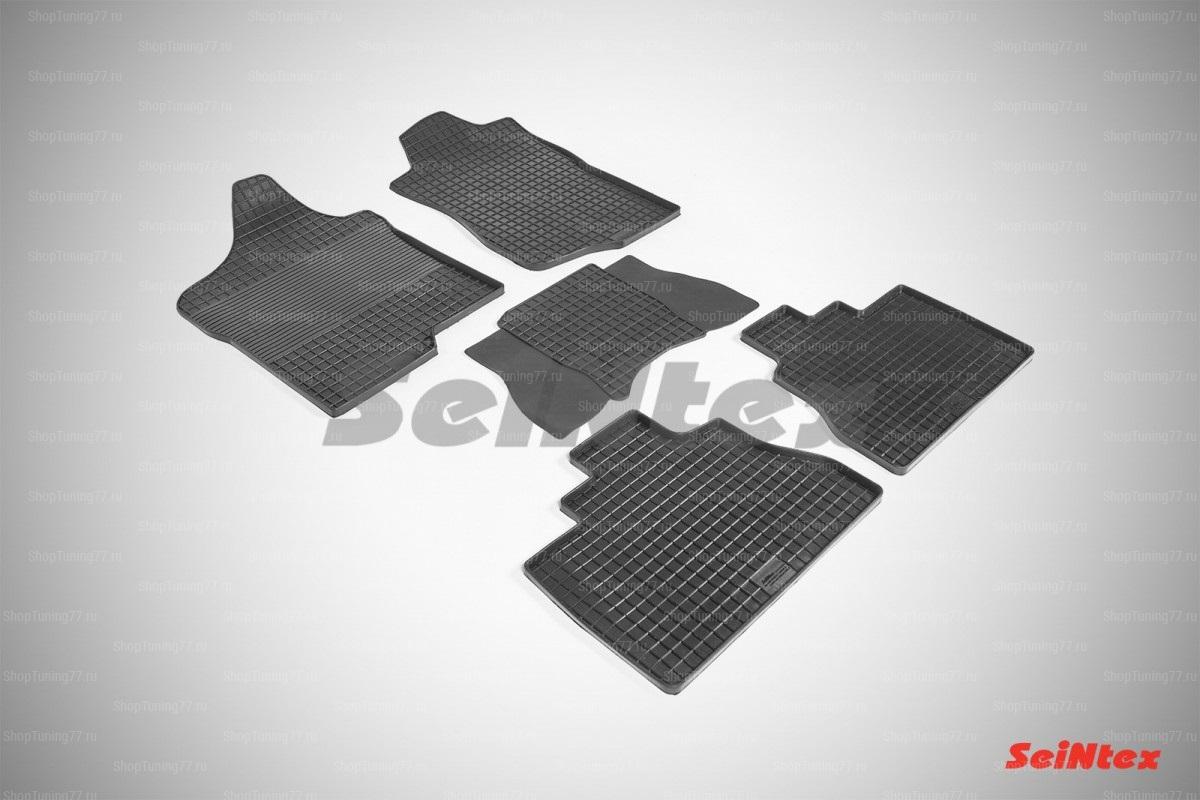 Резиновые коврики сетка для Chevrolet Tahoe 3 (2007-2014)
