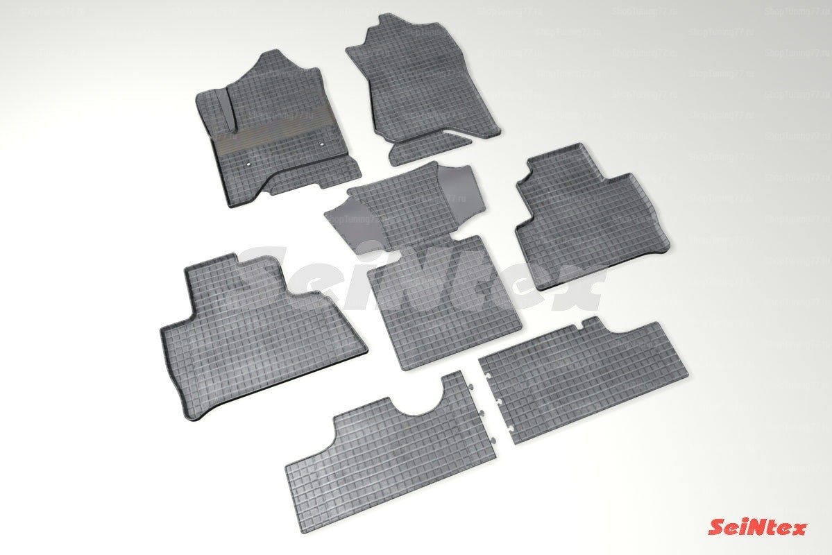 Резиновые коврики сетка для Chevrolet Tahoe 4 (2014-)