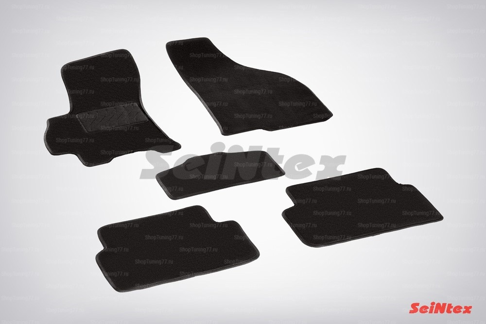 Ворсовые коврики LUX для Chevrolet Lanos (2005-2009)