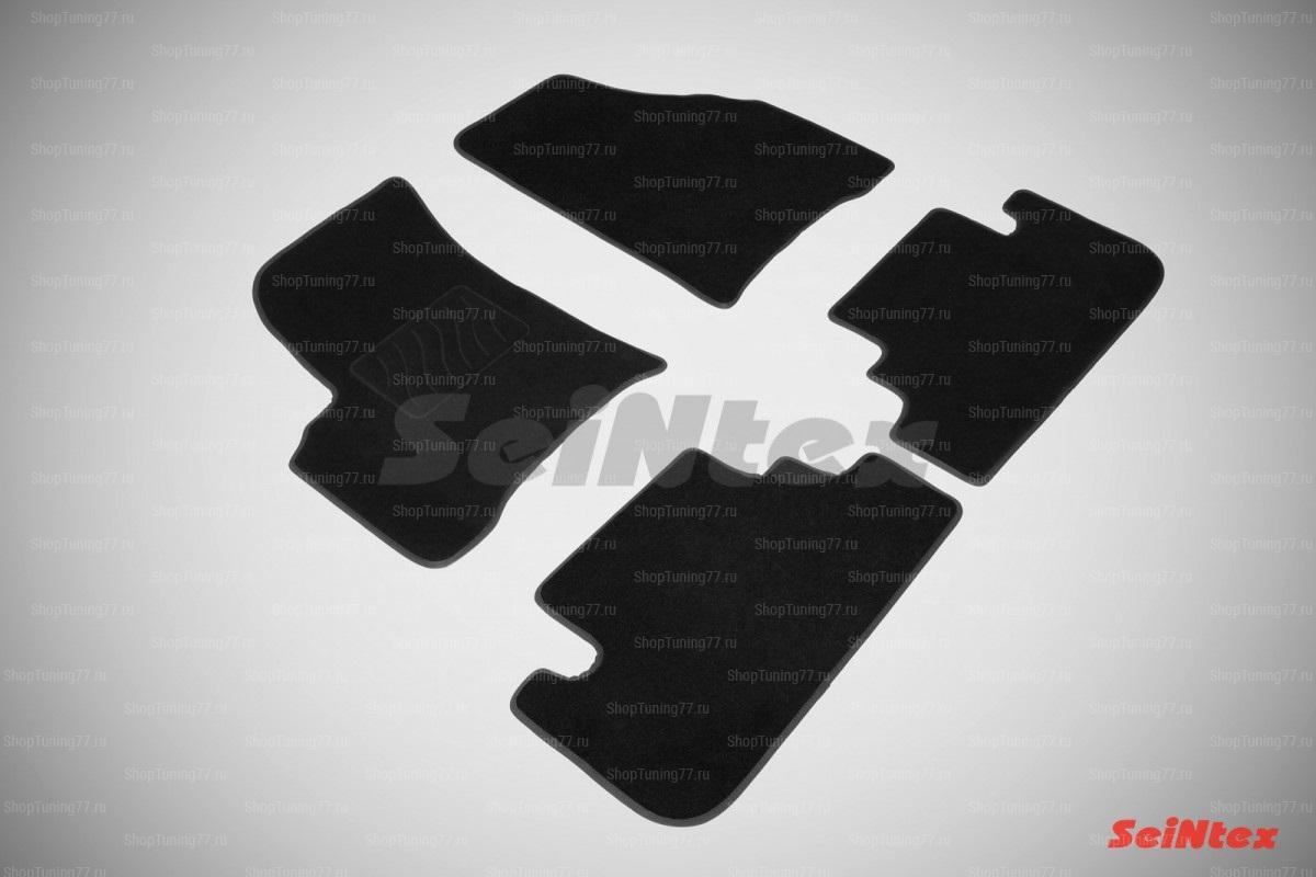 Ворсовые коврики LUX для Chevrolet Rezzo (2004-2010)