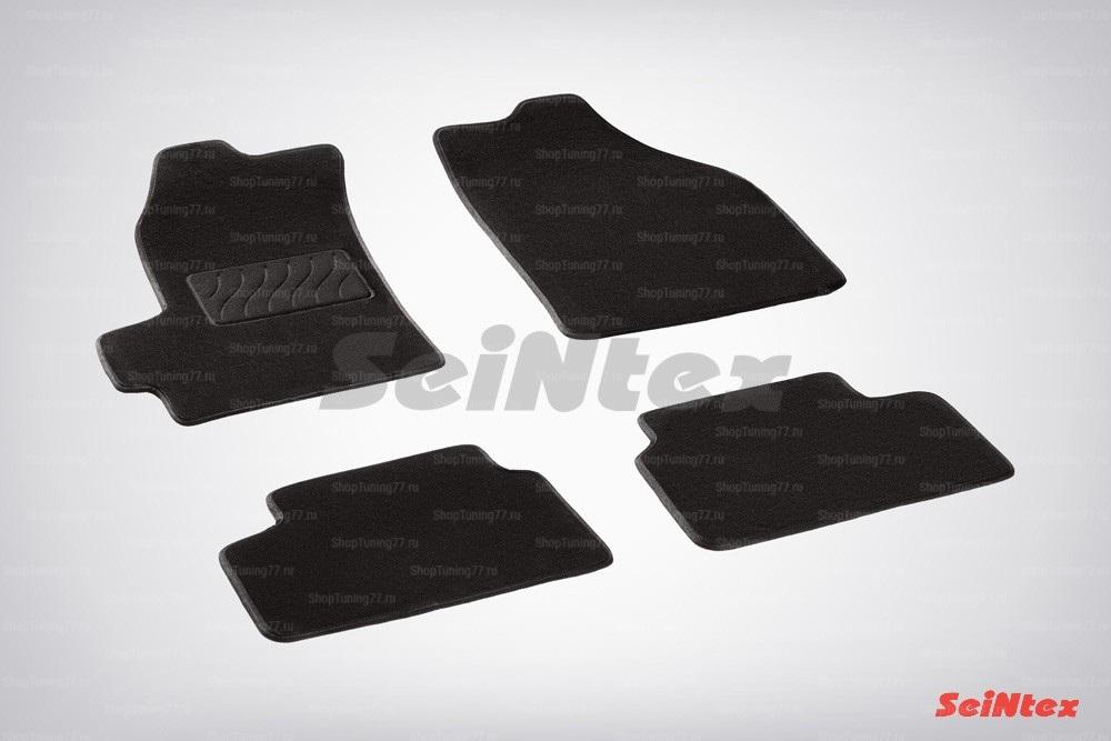 Ворсовые коврики LUX для Chevrolet Spark (2005-2009)