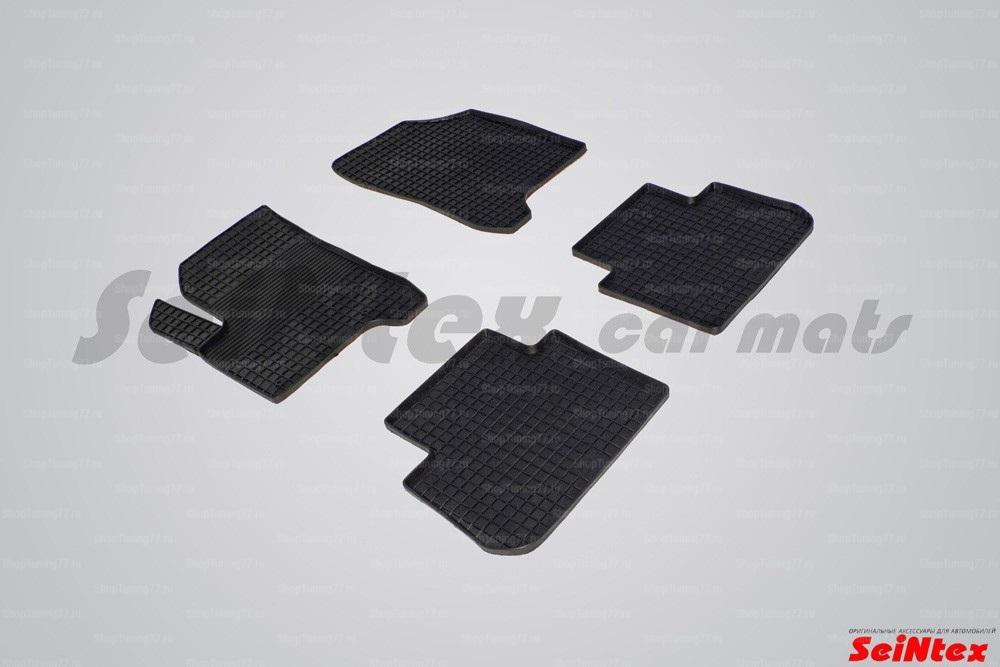 Резиновые коврики сетка для Citroen C3 Picasso (2009-)