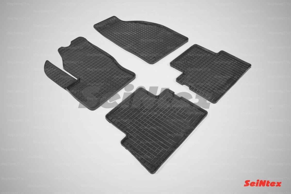 Резиновые коврики сетка для Ford C-Max (2003-2010)