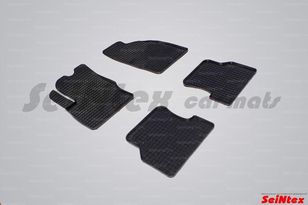 Резиновые коврики сетка для Ford Focus II (2008-2011)