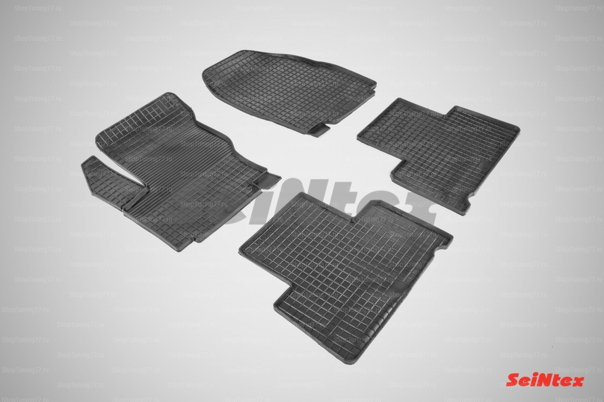 Резиновые коврики сетка для Ford S-Max (2006-2015)