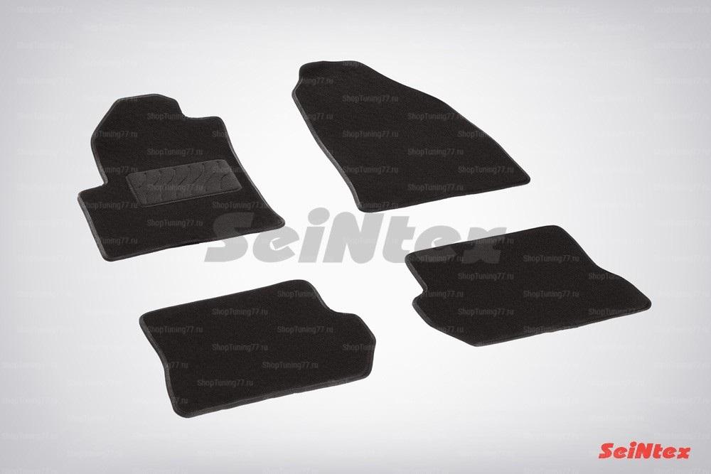 Ворсовые коврики LUX для Ford Fusion (2002-2008)