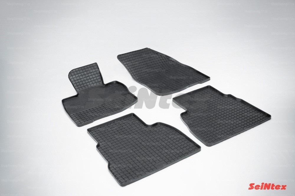 Резиновые коврики сетка для Honda Civic VIII Hatchback (2006-2012)