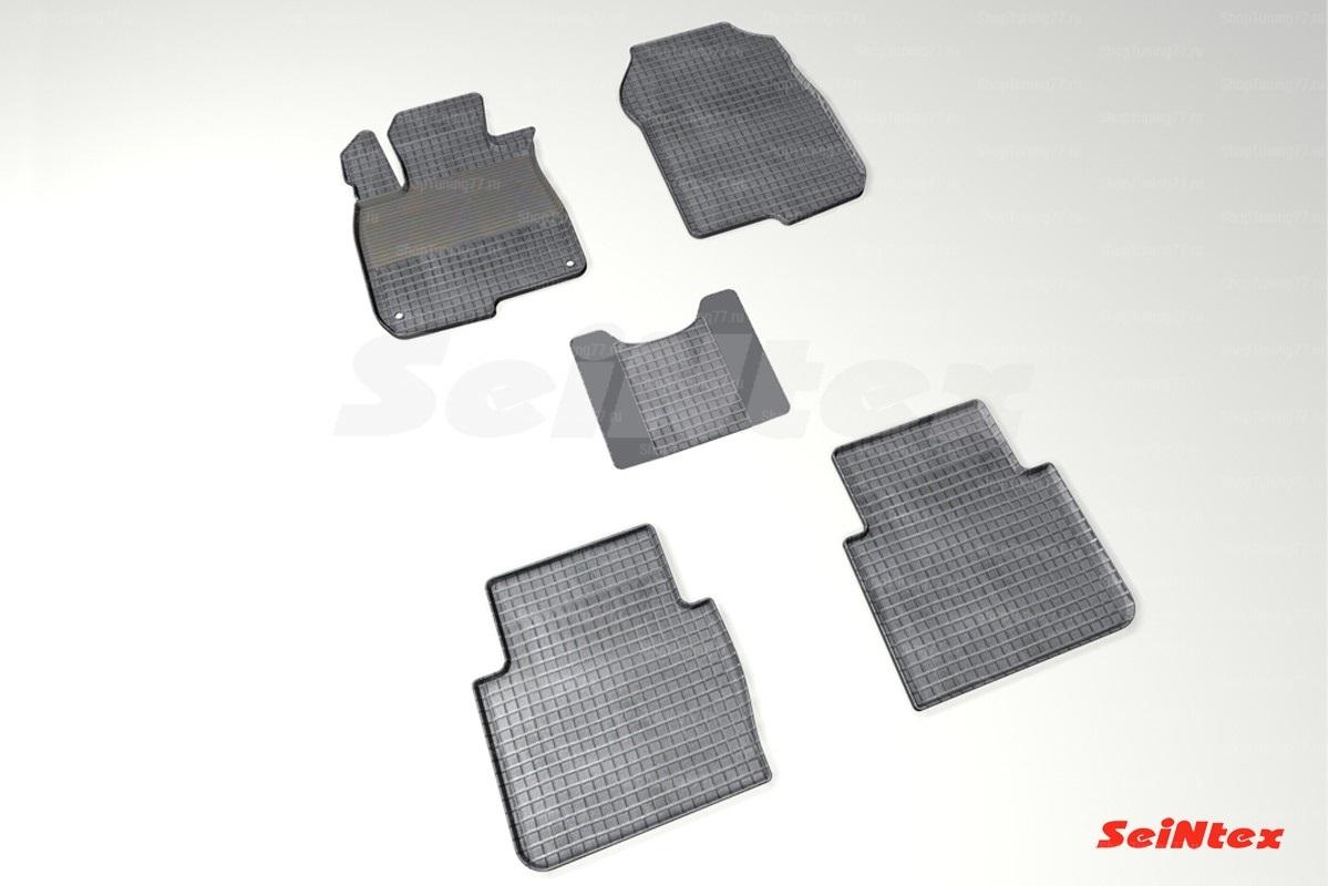 Резиновые коврики сетка для Honda CR-V V (2016-)