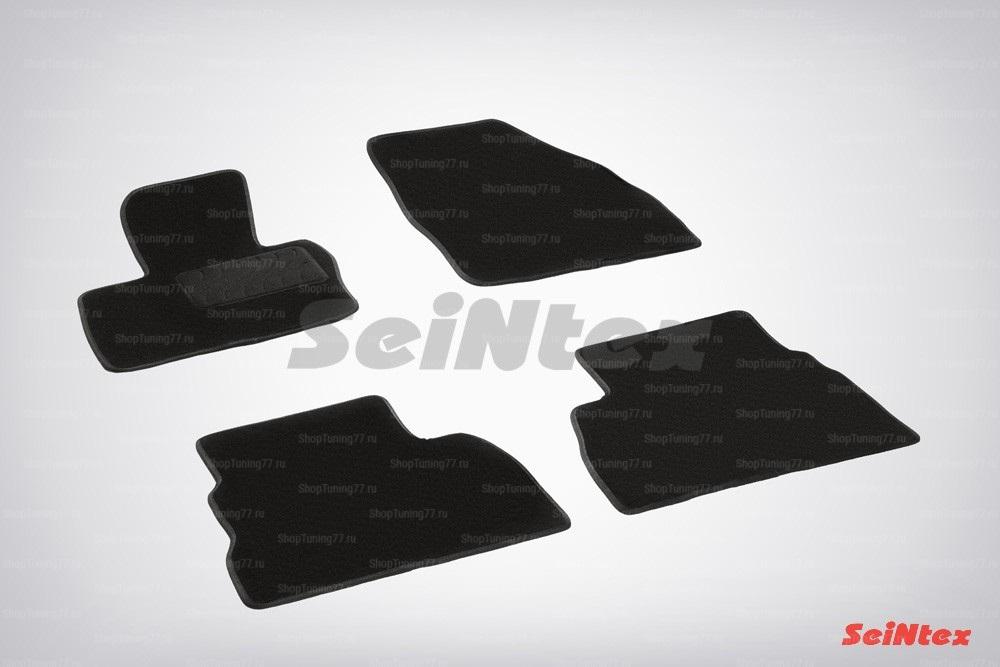 Ворсовые коврики LUX для Honda Civic VIII Hatchback (2006-2012)