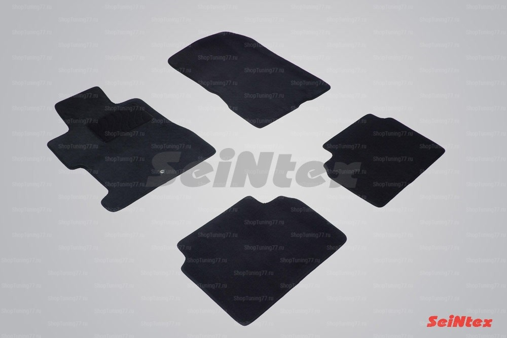 Ворсовые коврики LUX для Honda Civic VIII Sedan (2006-2012)