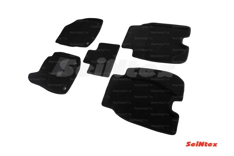 Ворсовые 3D коврики Honda Civic IX 5D Hatchback (2012-)