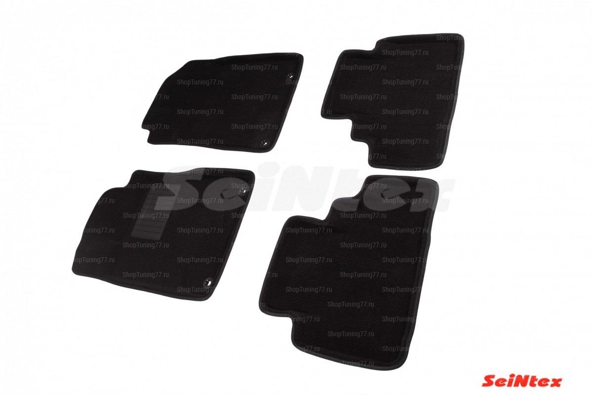 Ворсовые 3D коврики Honda CR-V IV (2012-2016)