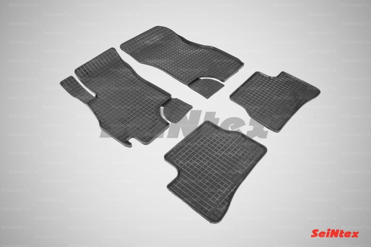 Резиновые коврики сетка для Hyundai Accent (2000-2012)