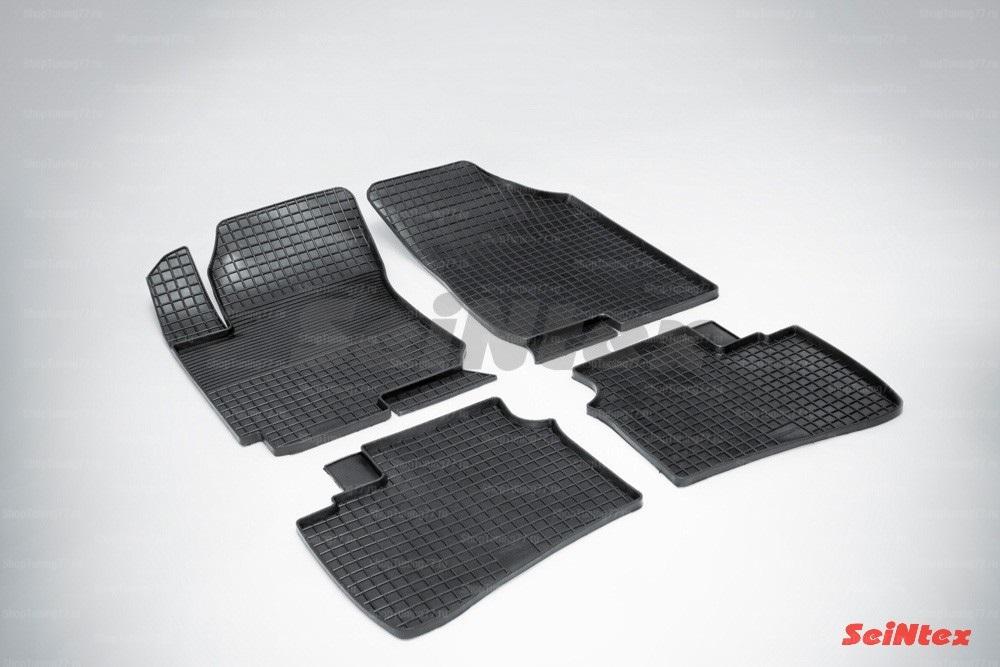 Резиновые коврики сетка для Hyundai Elantra IV (2006-2011)