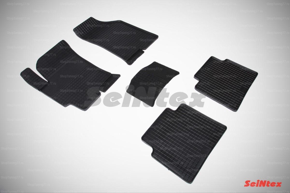 Резиновые коврики сетка для Hyundai Elantra IV (HD) (Таганрог) (2006-2011)