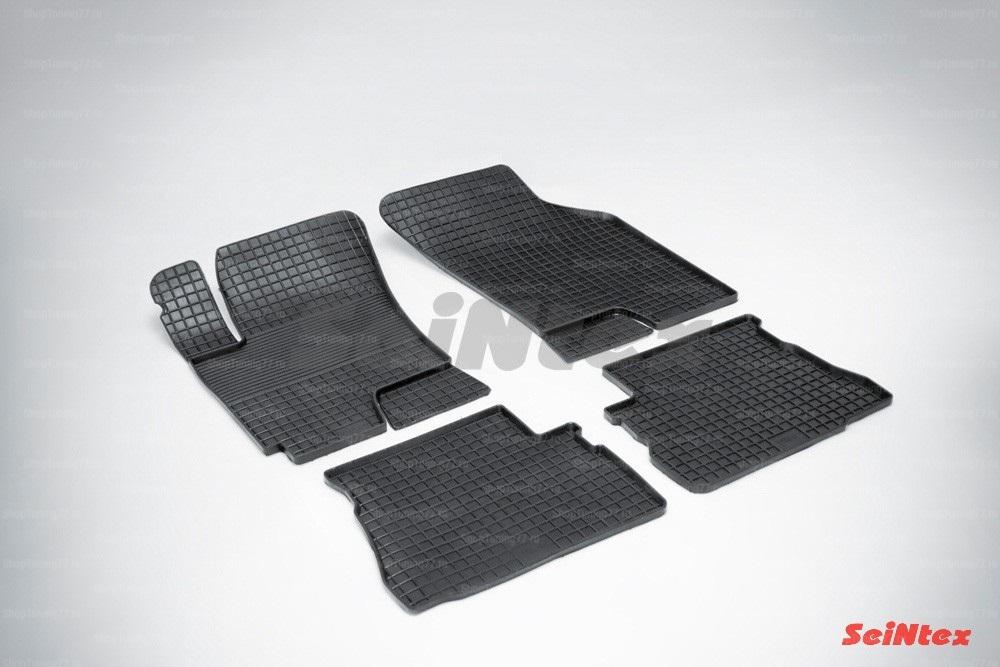 Резиновые коврики сетка для Hyundai Getz (2002-2011)