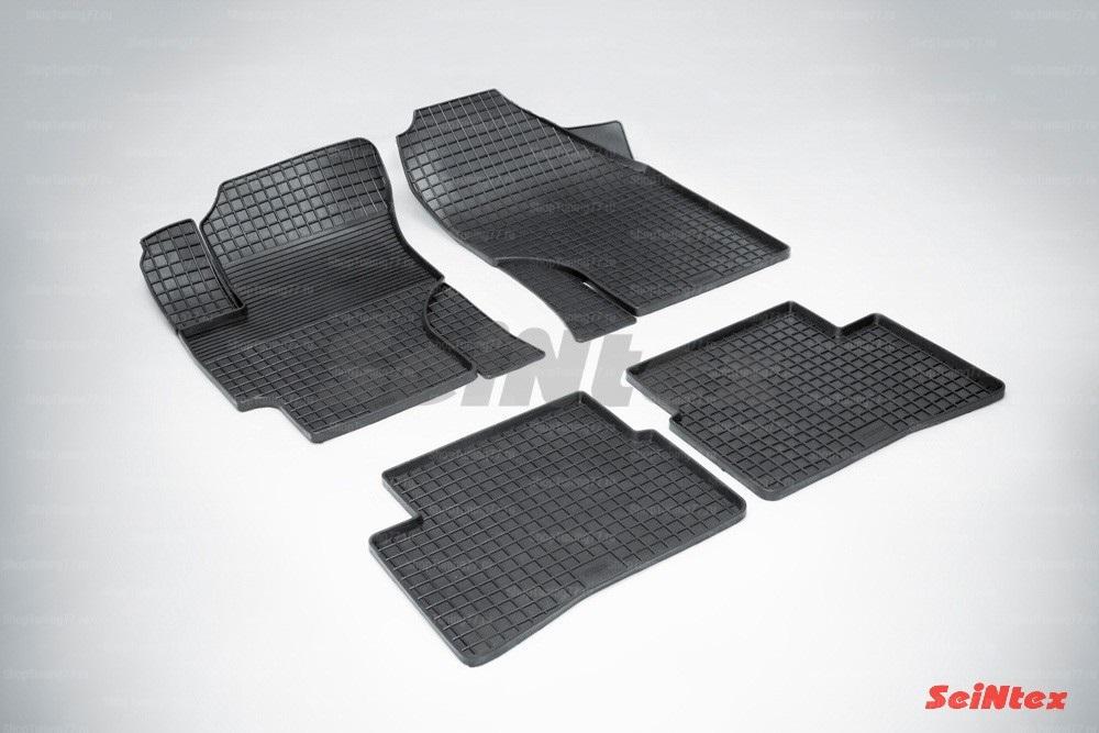 Резиновые коврики сетка для Hyundai Verna (2006-2010)