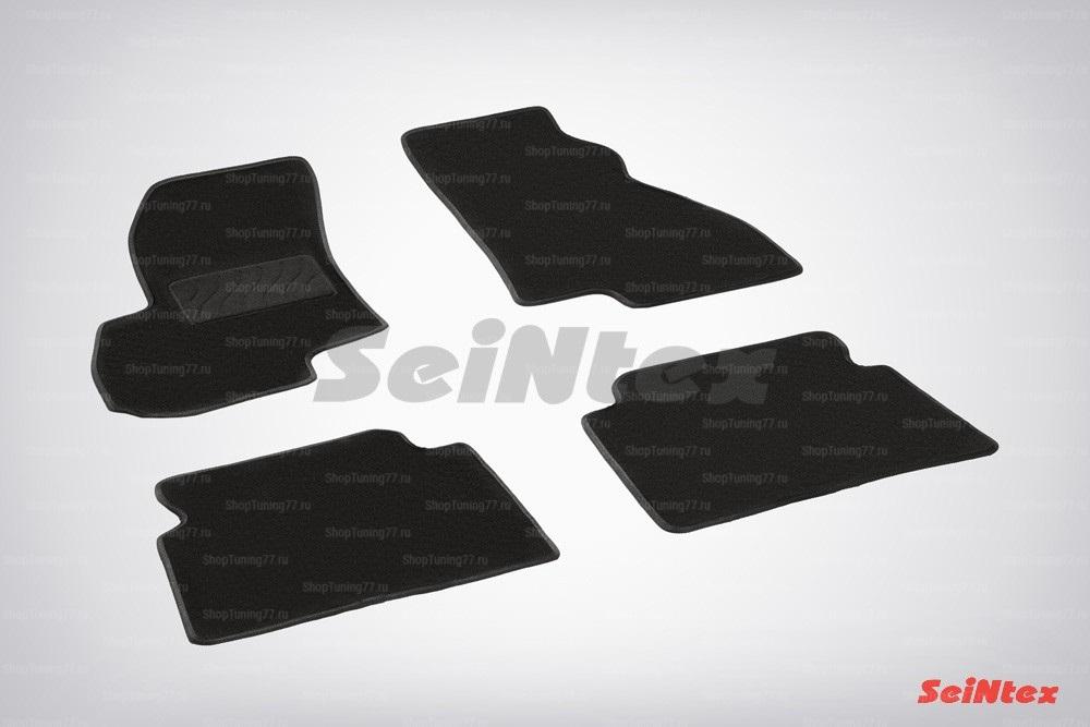 Ворсовые коврики LUX для Hyundai Santa Fe (Classic Таганрог) (2006-2010)