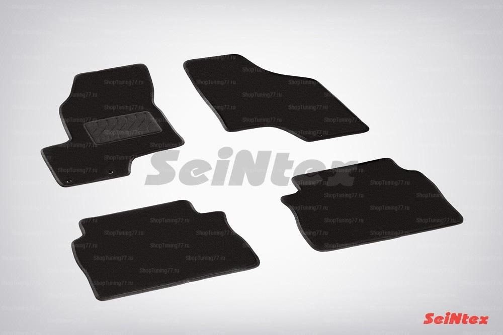 Ворсовые коврики LUX для Hyundai Santa Fe II (2006-2010)