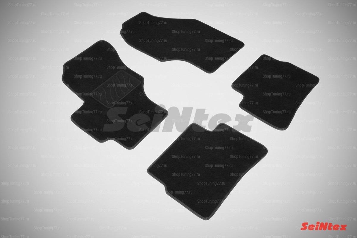 Ворсовые коврики LUX для Hyundai Verna (2006-2010)