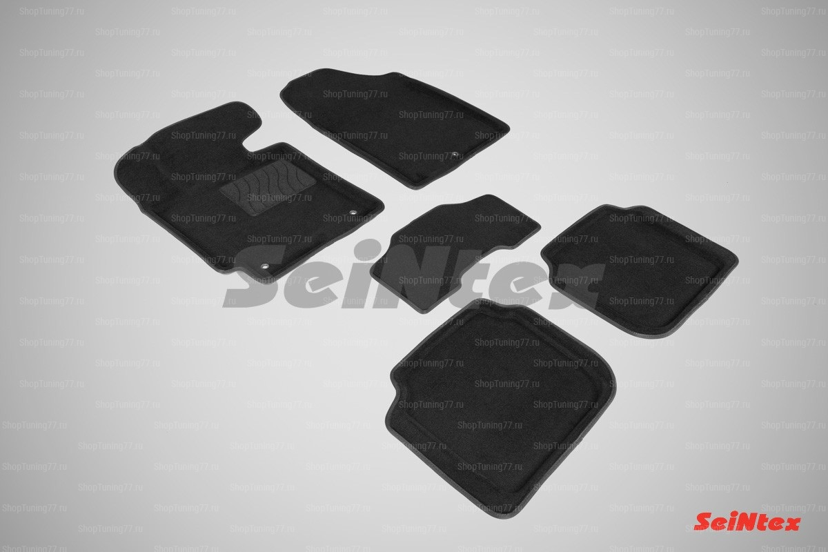 Ворсовые 3D коврики Hyundai Elantra V (2010-2014)
