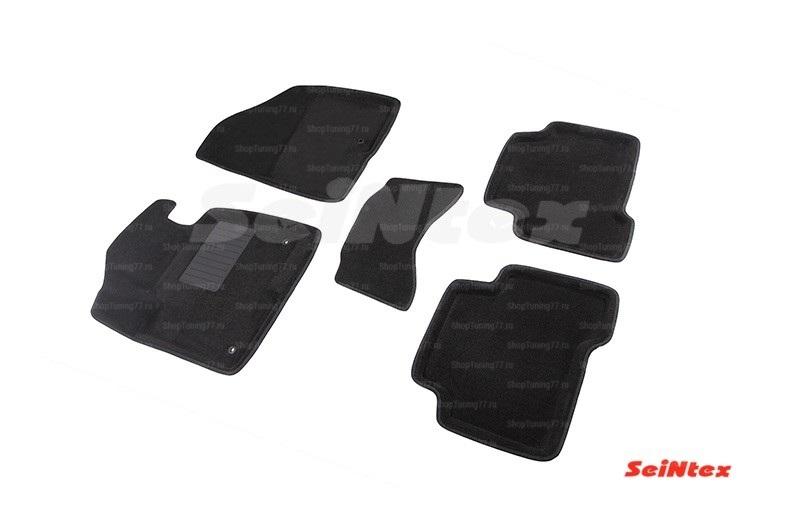 Ворсовые 3D коврики Hyundai Santa Fe II New (2010-2012)