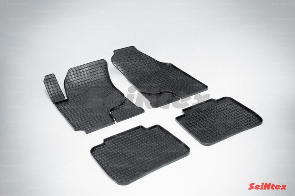 Резиновые коврики сетка для Kia Cerato (2004-2009)