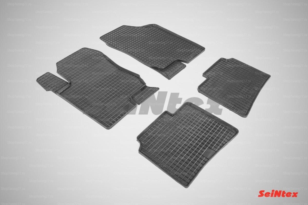 Резиновые коврики сетка для Kia Magentis II (MG) (2008-2010)
