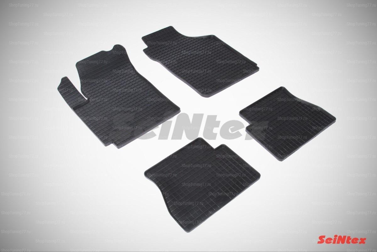 Резиновые коврики сетка для Kia Picanto (2005-2011)