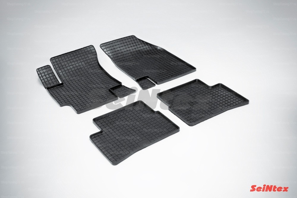 Резиновые коврики сетка для Kia Rio I (2000-2005)