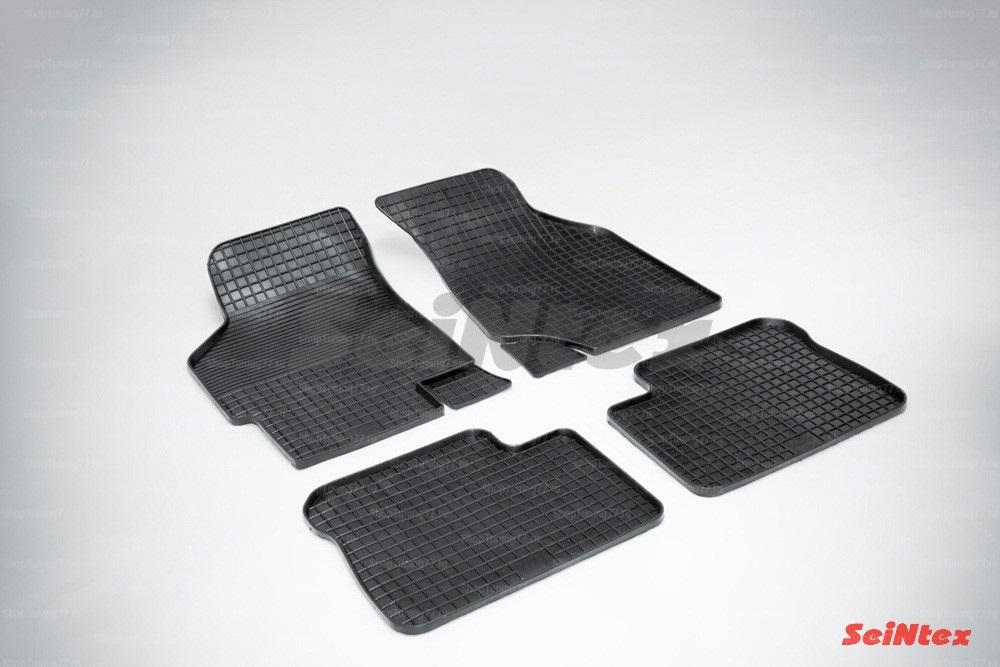 Резиновые коврики сетка для Kia Spectra (2006-2009)